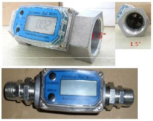 Battery Operated Turbine Flow Meter