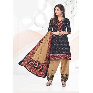 Chiffon Salwar Kameez Material