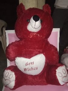 Red Teddy Bear Soft Toy