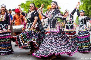 Kalbeliya Dance Dress
