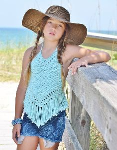Girls Crochet Top