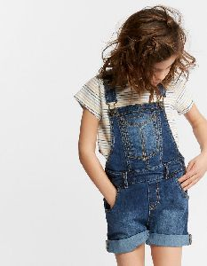 Girls Dungaree