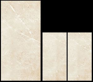 800X1600mm Bullberry Beige Glossy Series Vitrified Slabs