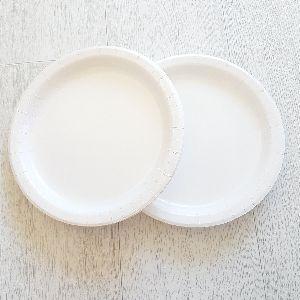 Plain White Paper Plates