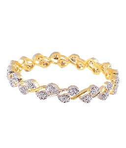 Fancy American Diamond Bangles