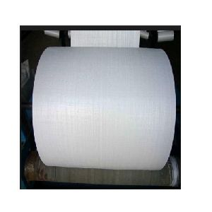 White Polypropylene Woven Fabric Roll