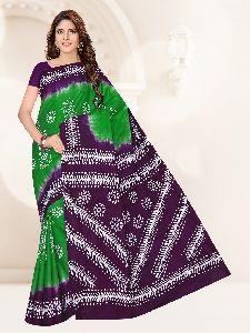 Ladies Wax Batik Saree