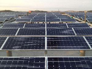 Rural Solar Power Plant