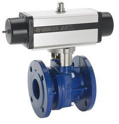 2 Way Flanged Ball Valves