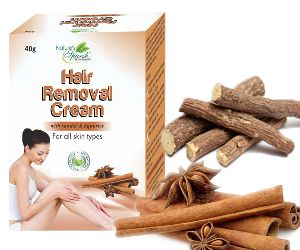 Nature's Sparsh Hair Removal Cream with Sandal & Liquorice