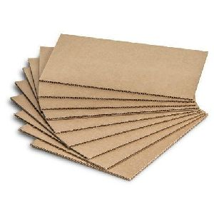 Plain Corrugated Cardboard Sheet