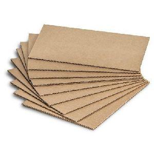 Plain Corrugated Cardboard Sheet