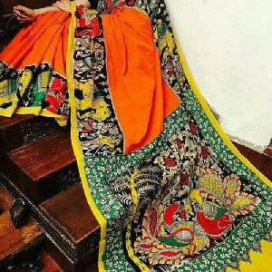 Kalamkari Cotton Saree