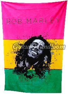 Bob Marley Cotton Wall Hanging Tapestry