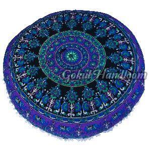 Elephant Mandala Cushion Cover