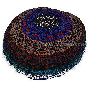 Large Six Colour Mandala Cushion Cover