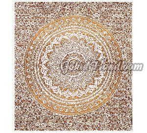 Popular Gold Ombre Cotton Wall Hanging Tapestry