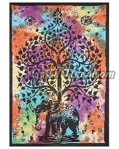Tree of Life Psychedelic Cotton Wall Hanging Tapestry