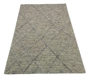 Hand Woven High Low Pile Textured Rugs\'