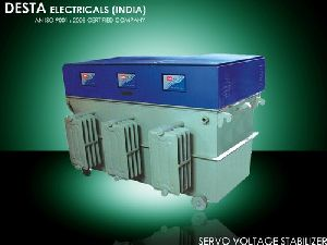 500 KVA Three Phase Servo Voltage Stabilizer