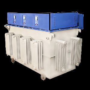 550 KVA Three Phase Servo Voltage Stabilizer