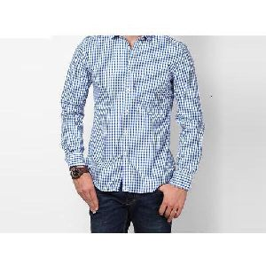 Mens Check Formal Shirt