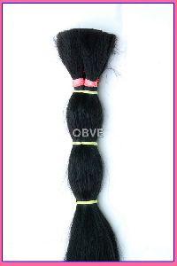 Jet Black  Human Hair