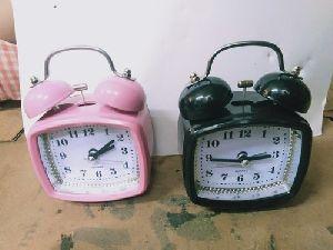 Metal Alarm Table Clock
