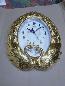 Peacock Shaped Wall Clock