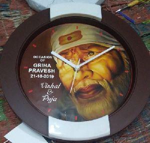 Religious Wall Clock