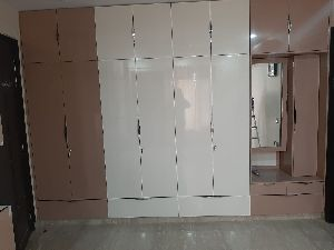 Acrylic Bedroom Wardrobe