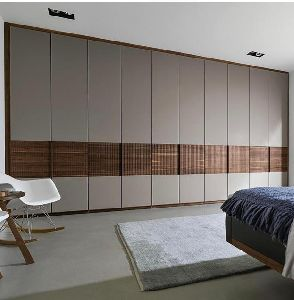PU Hi Gloss Bedroom Wardrobe
