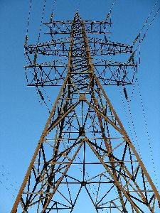 Electrical Transmission Line Tower