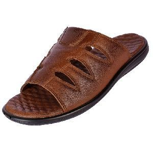 Mens Leather Orthopaedic Slippers