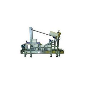 Semi Automatic Lid Placing & Pressing Machine