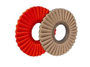 CROWN Corrugated Buffing Wheels
