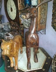 Wooden Animal Statue