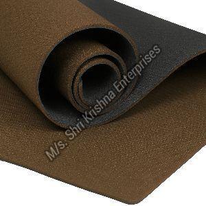 Double colour Brown Yoga Mat