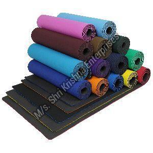 Double colour cyan Yoga Mat
