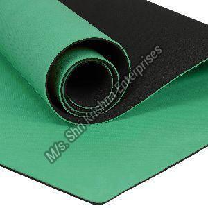 Double colour Green Yoga Mat