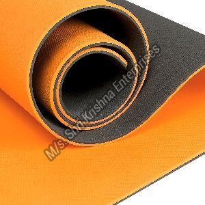 Double colour Orange Yoga mat