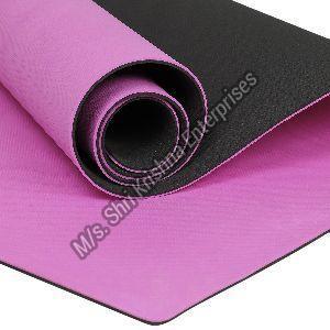 Double colour Pink Yoga mat
