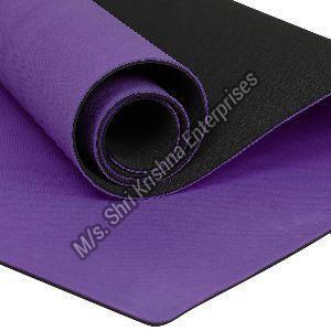 Double colour Purple Yoga mat