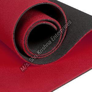 Double colour Red Yoga mat