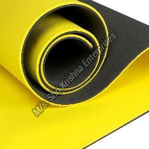 Double Colour Yellow Yoga Mat