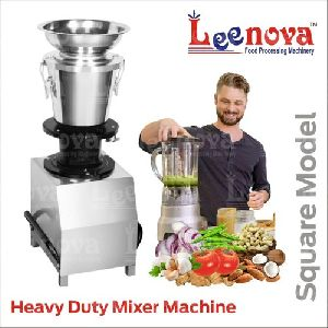 Square Model Heavy Duty Mixer Machine