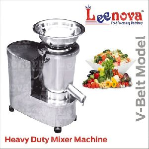 V-Belt Model Heavy Duty Mixer Machine
