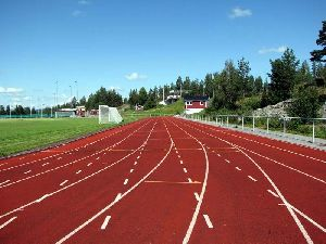 Paved Plate Synthetic Track