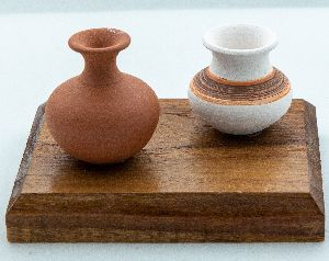 Miniature Pot for Table and Shelf Decor