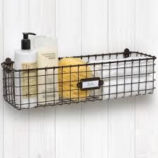 Wall Mounted Wire Basket